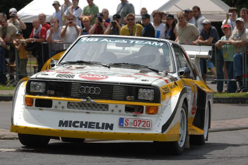 Mitfahrgelegenheit In Einem Audi Sport Quattro E2 S1 Gruppe B Eifel Rallye Festival